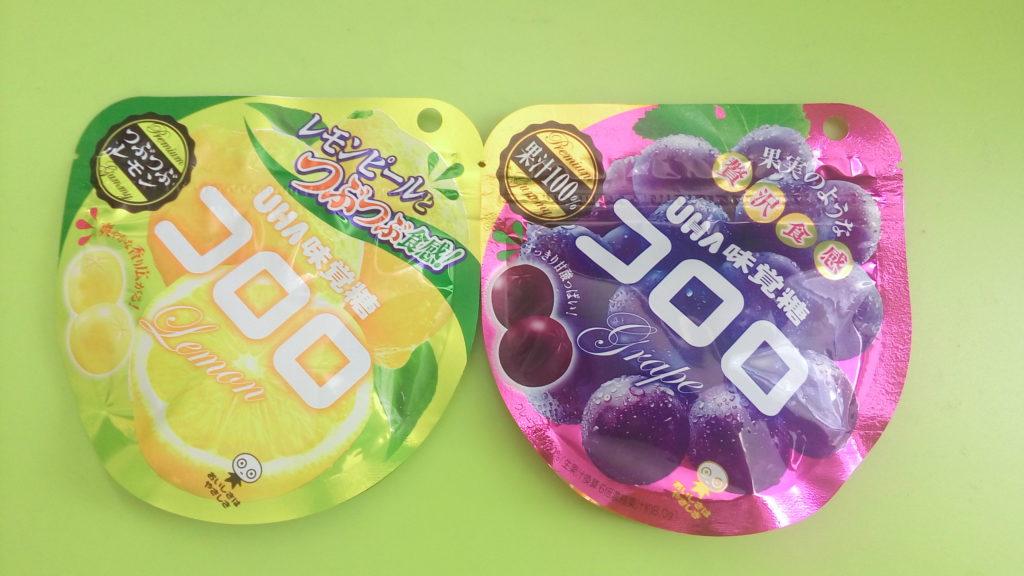 新食感!!?UHA味覚糖のグミ コロロ