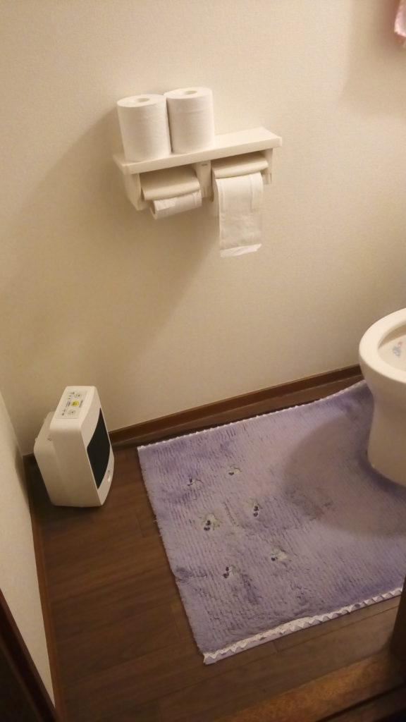 アイリス トイレ セラミックファンヒーター