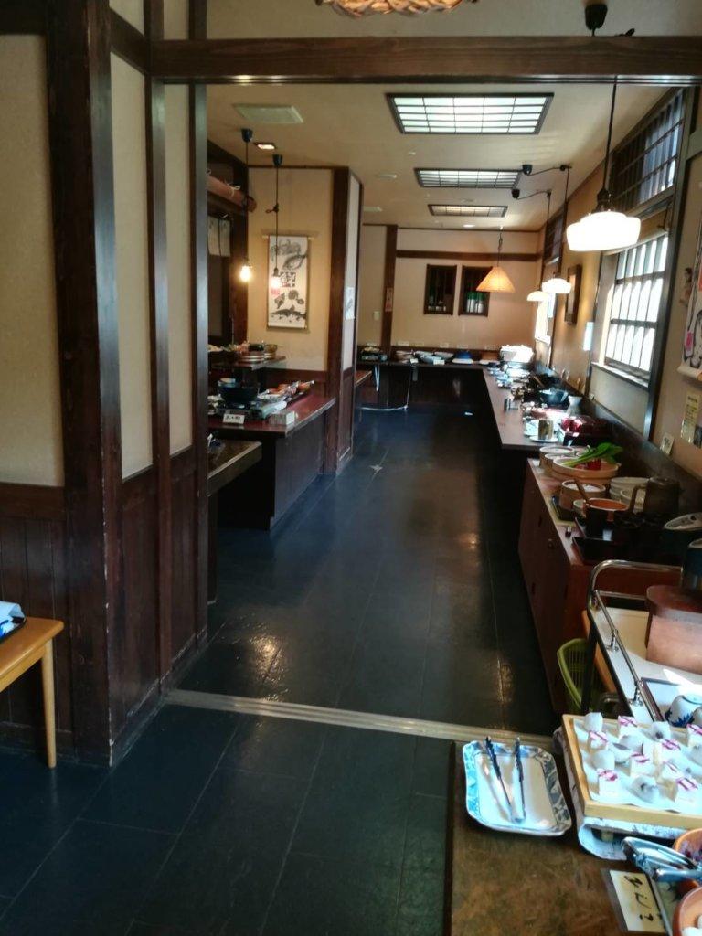 ぬくもりの宿ふる川 朝食会場