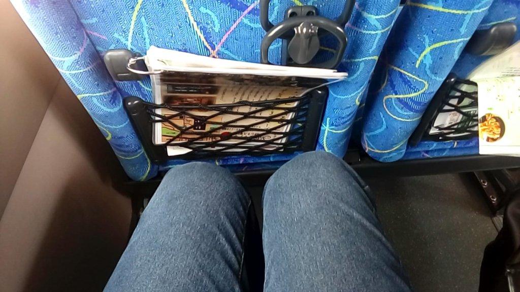 ふる川 バス車内
