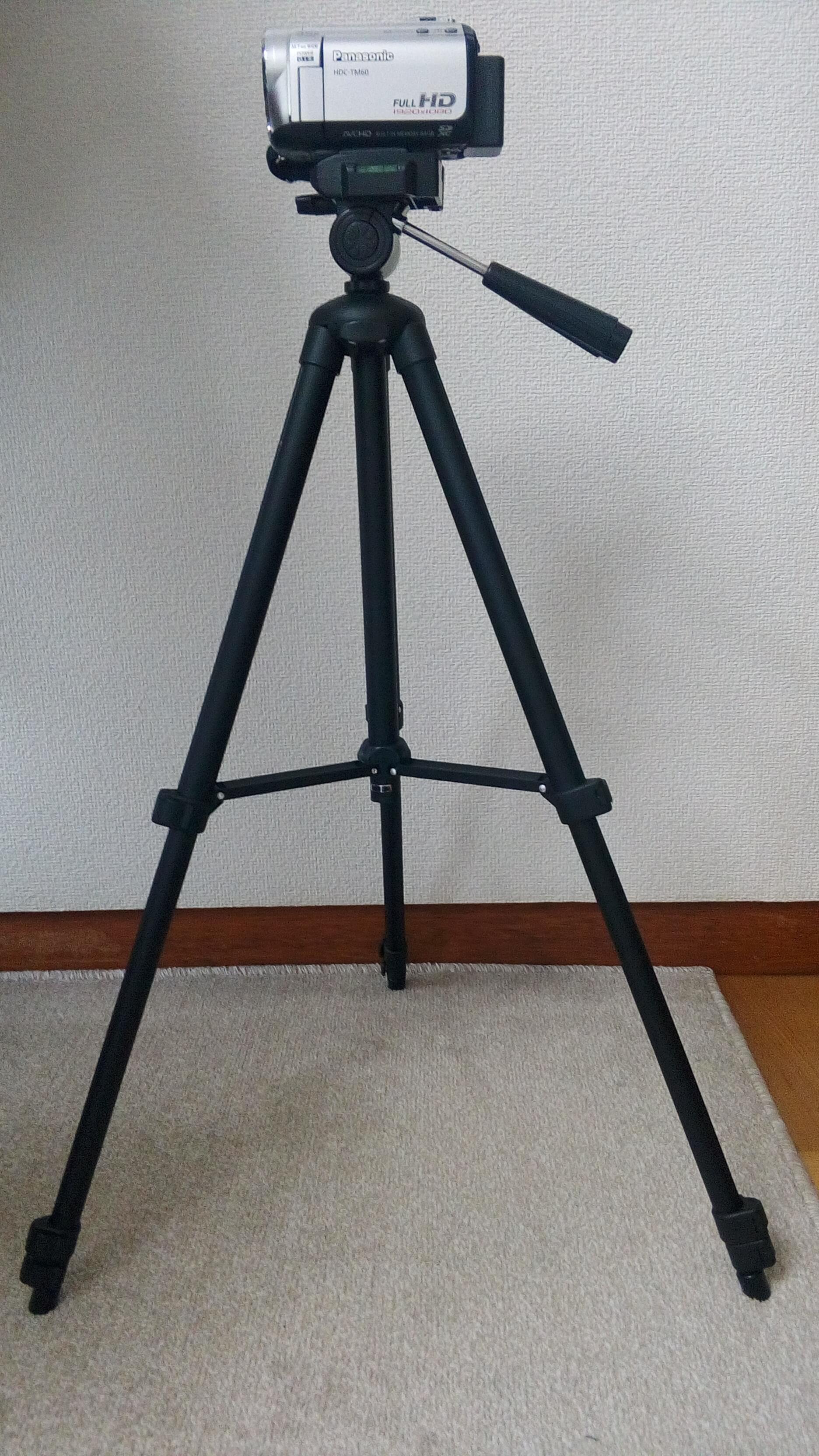 HAKUBA W312B 三脚 ビデオカメラ