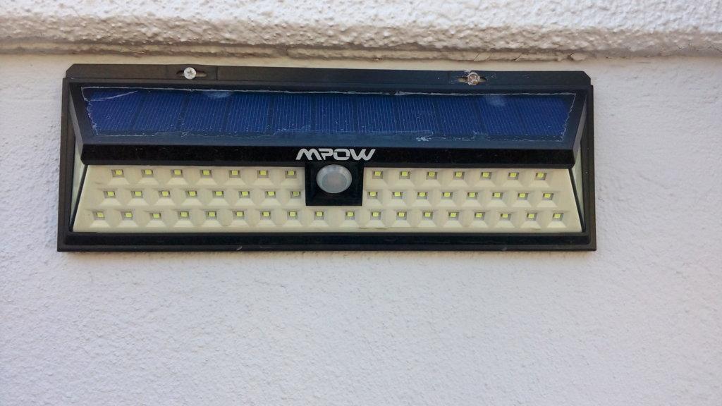 MPOW LEDソーラーライト