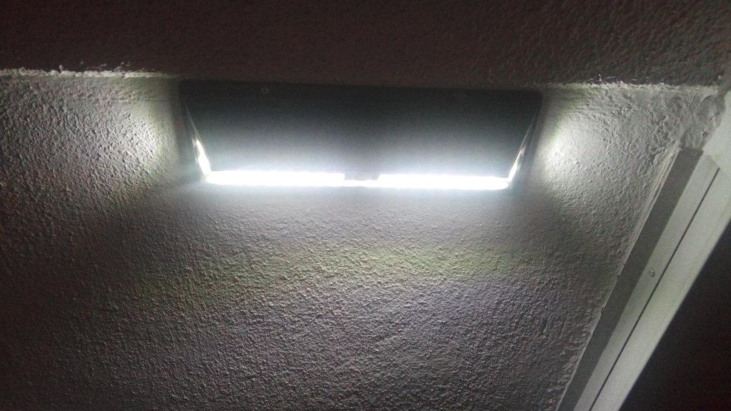 LEDソーラーライトの明るさ MPOW