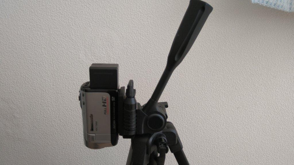 SLIK GX6400 パンハンドル 角度