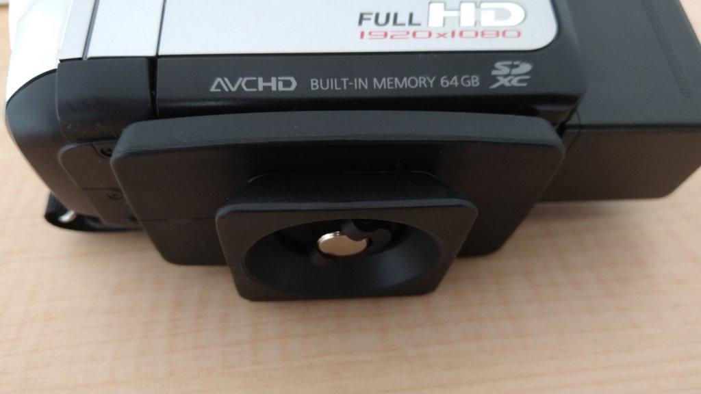 SLIK GX6400ビデオカメラ取り付け