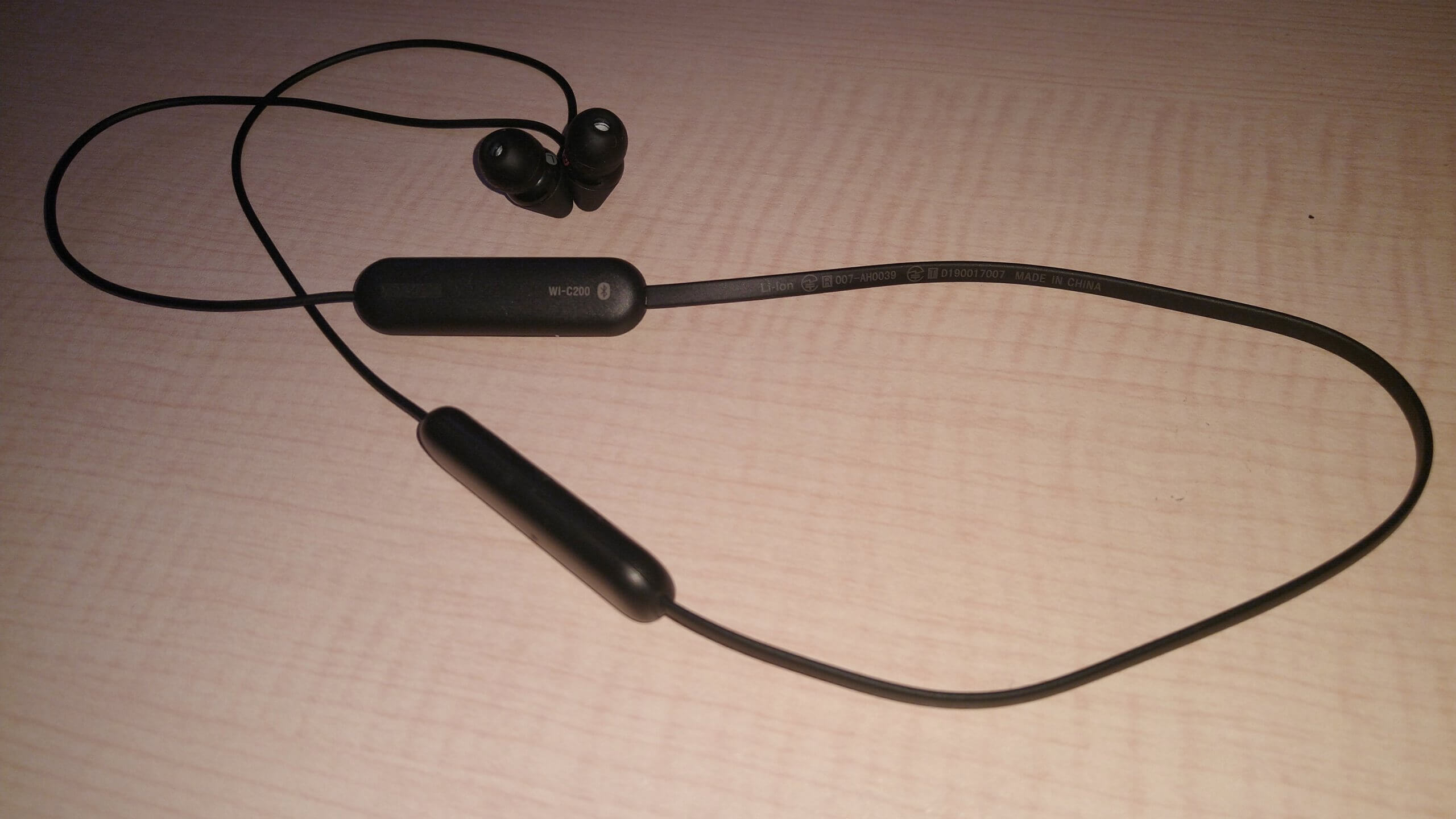 SONY WI-C200の使用レビュー