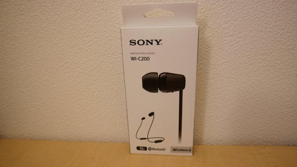 SONY WI-C200のパッケージ