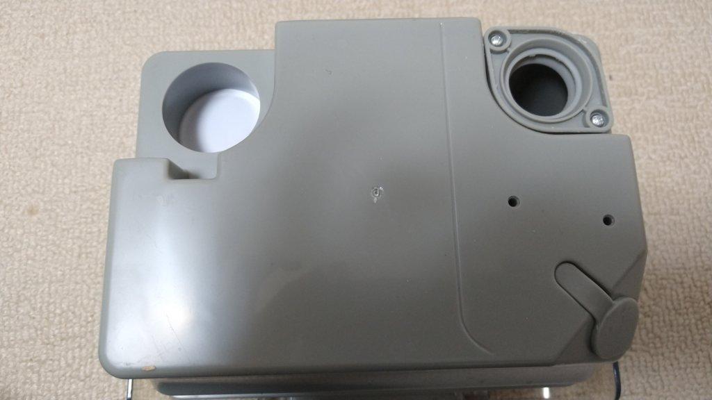 アイリスオーヤマ リンサークリーナー RNS-300 回収タンク裏側
