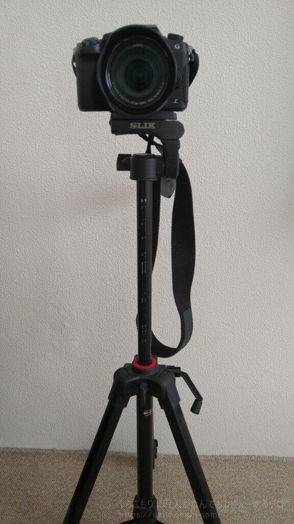SLIK GX6400 ミラーレス一眼カメラ エレベーター